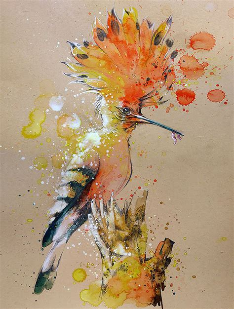 water color paintings splashed watercolor paintings by tilen ti bored panda
