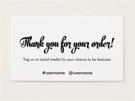 customer thank you card template 7 business thank you cards free sle exle format