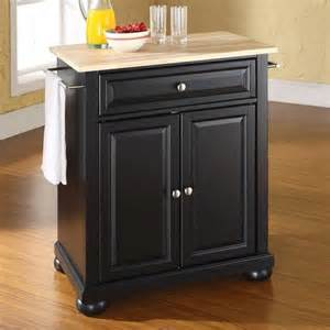 kitchen island portable alexandria portable kitchen islands at brookstone buy now