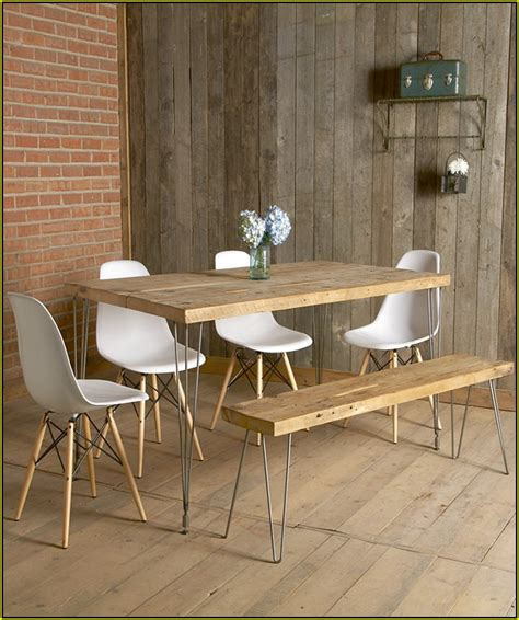 wood bench for kitchen table home design ideas