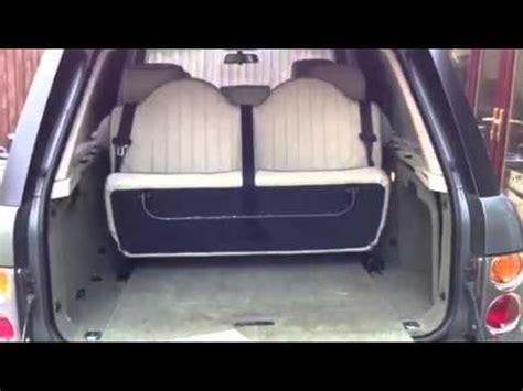 range rover l322 hse 2003 6 7 seat conversation