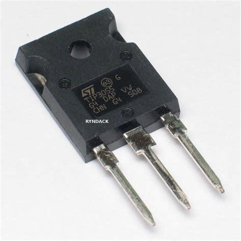 tip 3055 npn transistor tip3055 transistor npn 100v 15a ryndack componentes