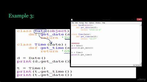 16 python inheritance exle 3 youtube