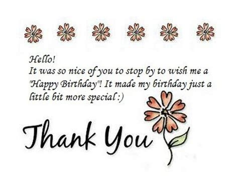 Birthday Wishes Reply With Thanks Quotes Reply To Birthday Wishes With Thank You Quotes And