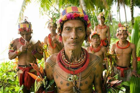 tattoo suku mentawai mentawai island indonesia tourism of indonesia