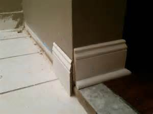 baseboard sizes transition baseboards across different floor levels 1 5in