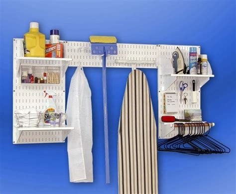 ez wall organizer laundry room kit contemporary
