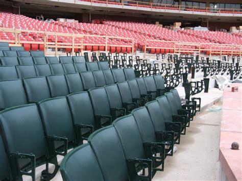 busch stadium green seats cardinal nation 187 busch stadium 1 21 06 inside the new