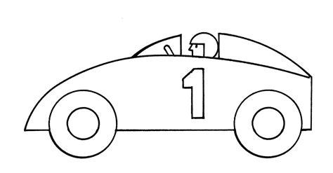 Automobile Outline Clip by Race Car Outline Clipart