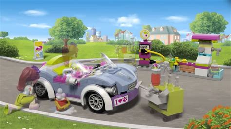 Lego Friends Auto by Lego Friends Kabriolet Mii 41091 Youtube