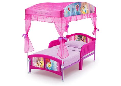 Princess Canopy Beds by Delta Children Disney Princess Toddler Canopy Bed
