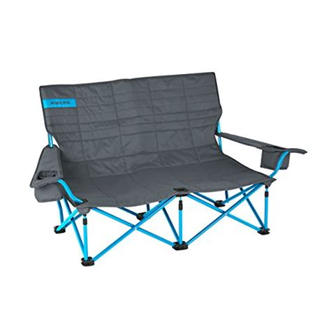 kelty loveseat kelty low loveseat c chair smoke paradise blue