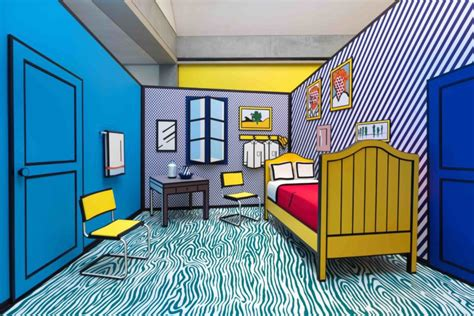 Bedroom At Arles Meaning Review Pop Into The World Of Roy Lichtenstein At