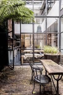 Greenhouse Interiors Tendance Les Fen 234 Tres En Aluminium Style Industriel