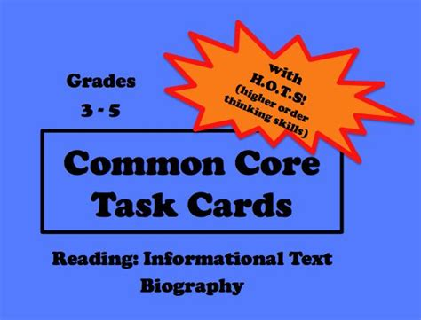 biography and autobiography task cards 1000 images about finding main idea informative text on