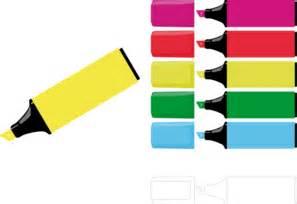 Highlighters clip art at clker com vector clip art online royalty