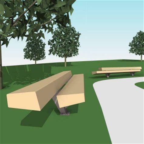 Landscape Forms Trapecio Free Models Landscape Forms Trapecio Bench The Revit
