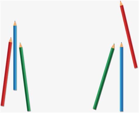 Wallsticker Border Pencil Warna pencil border decorative border of colored pencil vector pencil color gclipart