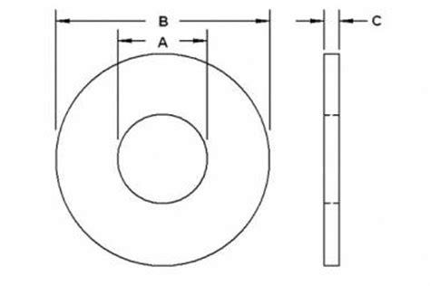 Ring Plat M12 Stainless hardened washers portland bolt