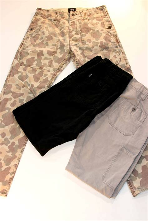 Chino Cargo Gold Brown Laki Original stussy honolulu chapter august 2011