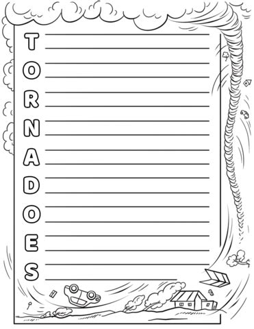 Tornadoes Acrostic Poem Template Free Printable Papercraft Templates Letter Poem Template