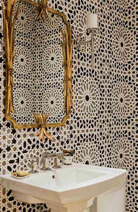 Carrelage Marocain Pour Salle De Bain 4114 by Salle De Bain Marocaine Du Luxe Des Couleurs Et De L