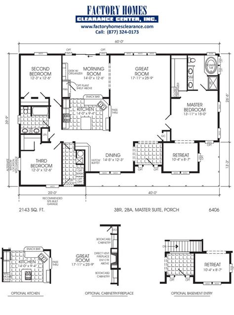 modular homes with basement floor plans 6 bedroom triple wide floor plans web hot100 com