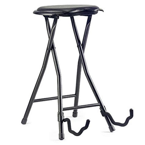 sgabello fender stagg foldable guitar stand and stool guitar