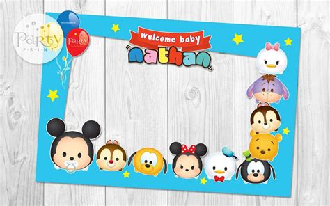 Disney tsum tsum baby shower party ideas photo 1 of 16 catch my party