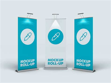 Roll Up roll up banner mockup by piotr szmiłyk dribbble