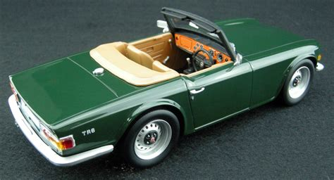 Collectible Ls ls collectibles triumph tr6 pre order 1 18 green ls002a