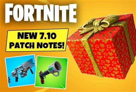 fortnite update  patch notes presents item  days