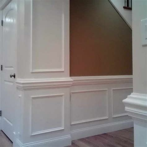 chair rail with picture frame picture frame wainscoting with heavy chair rail this is