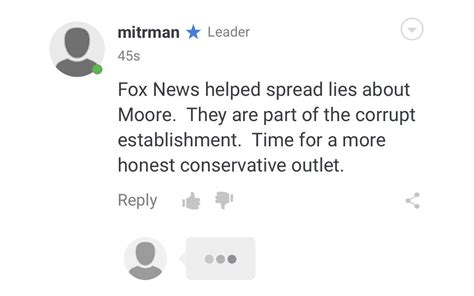 fox news comment section overview for natedogg787