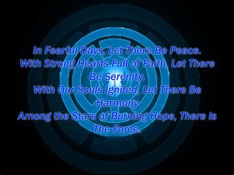 blue lantern oath oath of the blue lantern jedi by lord lycan on deviantart
