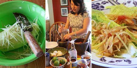 Hmong Kitchen papaya salad 2 hmong in alaska