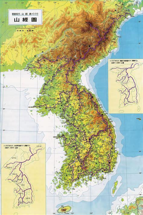 korean map maps of south korea detailed map of south korea in