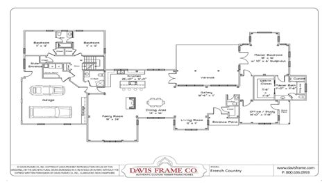 small floor plan one story house plans with open floor plans small one