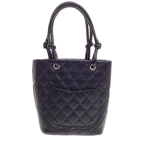 Quilted Totes by Chanel Cambon Tote Quilted Leather At 1stdibs