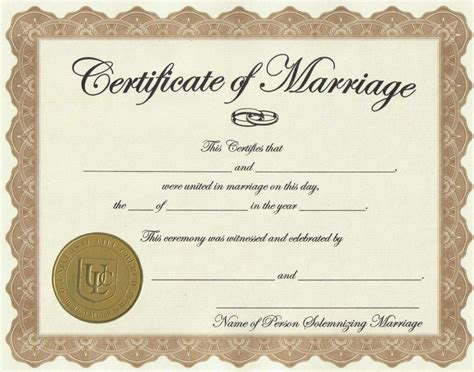 Marriage Certificate Records Marriage License Weare Nh