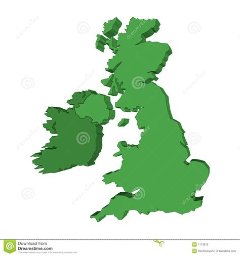 vector map of the uk royalty free stock images image 4213469 3d uk and ireland map stock illustration illustration of europe 1112915