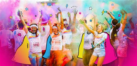 what is the color run the color run happiest 5k on the planet