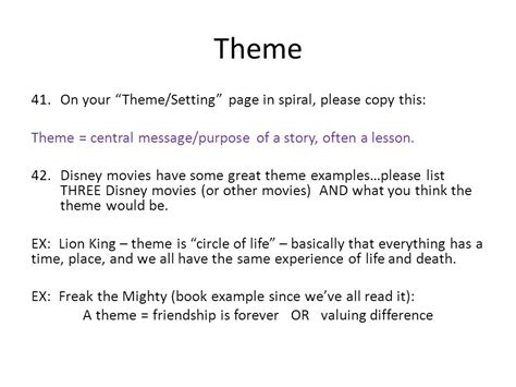 theme exles of movies figurative language group two ppt video online download