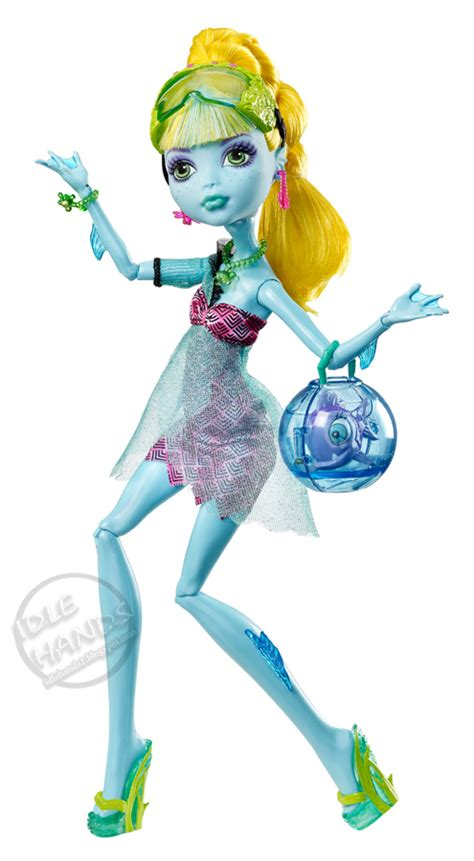 monster high 13 wishes lagoona idle hands toy fair 2013 a monster high teaser