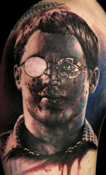 ten unusual horror themed tattoos