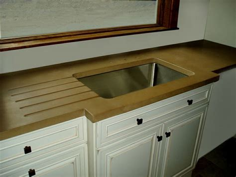 custom kitchens zinc countertops and sinks on pinterest 1000 images about concrete countertop details on