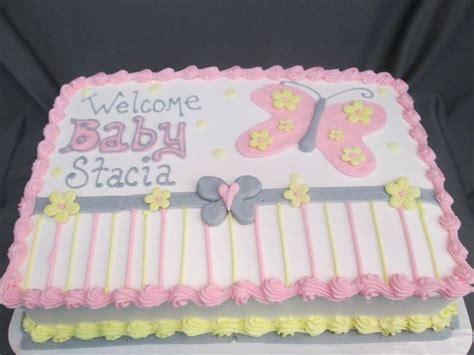 Baby Shower Sheet Cakes by Baby Shower Sheet Cakes For Www Pixshark