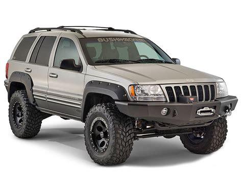 1999 jeep fender flares bushwacker 10926 07 cut out fender flares for 99 04 jeep