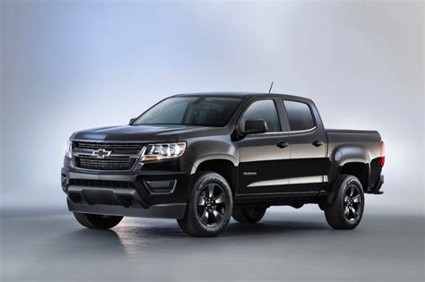 chevy colorado midnight edition 2016 chevrolet colorado midnight edition is one black