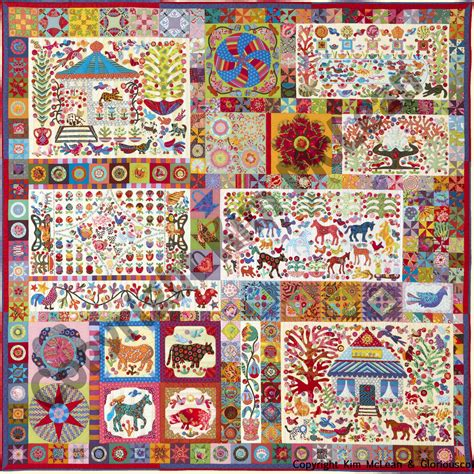 glorious color glorious color quilt fabric and kits from museum quilts